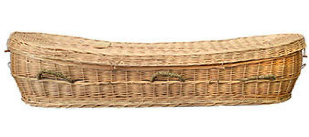The Proverb funeral casket in Perth